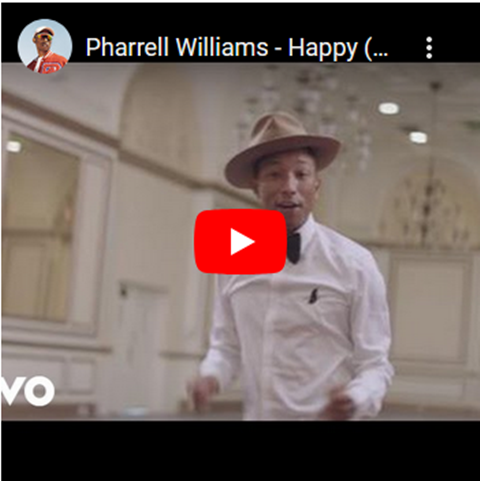 Happy, de Pharrell Williams
